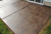 Штампованный бетон (дорожки)