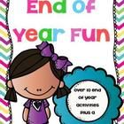 End of Year / Things to do at the end of the school year!!!  Easy peasy and fun!