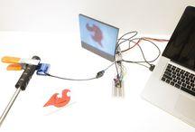 e-media electrical electroluminescent art