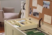 Organization / Some beautiful pieces and creative ideas for your organizing needs :-)