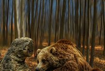 Mahanga Bears Incorporated / The Great Ted.