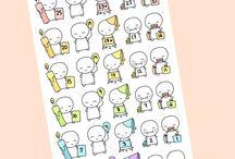 little sweet stickers