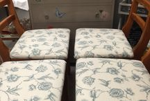 #MadeItMyOwn / Gallery of fab furniture painted using Chalk Paint ™ Decorative Paint by Annie Sloan and her wonderful range of stencils, Decoupage glue & varnish, Craqueleur, Metal leaf & Gold Size.