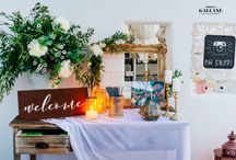 Shabby Chic Santorini Wedding