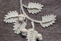 irish crochet - motives