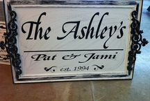 Wall Plaques / by SignChik- Family Birthday Boards & Yard Signs