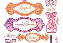 Samantha Walker Stamps for JustRite Papercraft / Samantha Walker's new line of Spellbinder's Dies and coordinating JustRite Stamps will be released at 2012 CHA Summer!!  We are so excited that Samantha is joining the JustRite Team of illustrators.  These new Dies and Stamps ship in August 2012!!