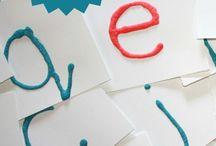 alphabet and reading