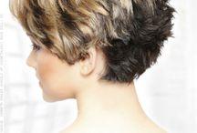 short stacked hair cut