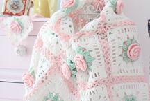 Haak en brei ideëen zonder patroon/ Crochet and knitting ideas without pattern