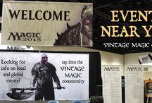 Vintage Magic | Slideshow Banners / This board represents slideshow banners found on our website.  Discover more slideshow banners @ www.facebook.com/vintagemtg  or please visit www.vintagemagic.com