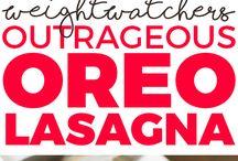 Oreo lasagne