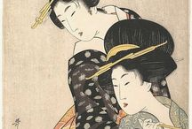 Japanese traditional illustrations