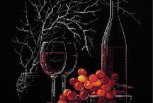 Výšivka vína
