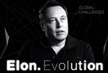 Elon Evolution / Elon Musk is the man of the future. He makes rocket ships that will carry humans into space and makes cars that don't require gasoline. But he can't solve all of humanity's challenges. CNNMoney found the companies that can.