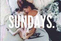 Weekend Mornings / Lazy Saturdays & Sundays