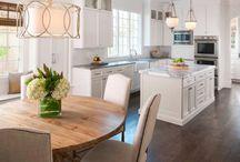 open plan kitchen/island