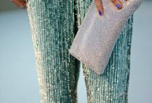 sequins pants outfit