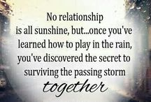 Relationship Quotes / Famous as well as original quotes about relationships.