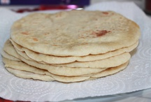Breads and flat breads / Different types of breads and flat breads