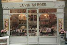 Dollhouse shops.