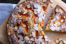 Apricot and olive oil cake
