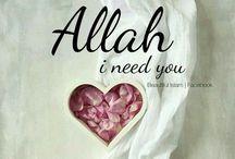 Allah i need you always