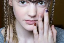 Nail Trends FW 15/16 / Newest nail trends from NYFW for FW 15/16!