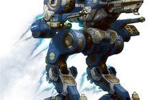 cybernetic / machines,  mechas,  cyborgs,  Cyberworld