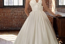 I want to be a bride / Pictures come from http://www.dailyshop.com/Wedding-Dresses/ / by Jude Spencer