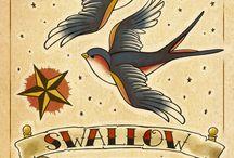 swallow / Schwalbe
