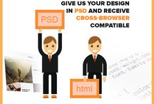 PSD To HTML Converting Service
