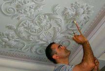 роспись потолки