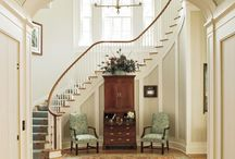 Ideas for niche by curving staircase / by Jennifer Brown