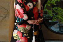 Kimono, Furisode, Yukata, Uchikake, Hakama & Hoari