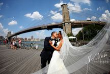New York Wedding Moments / We are so fortunate to work in this amazing city. Our couples not only love New York, but they want her in their photos!! Here are a few photos to show why we all love this city so...and why our clients love getting married here!