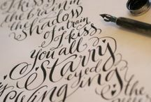 Calligraphy / by Lauren Landrum