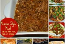 mexican style meat