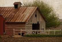 BARNS I LOVE THE RUSTIC CHARM / by Diane