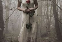 Moodboard - dress/forest