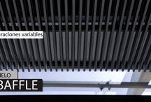 Architectural Ceilings / Productos diseñados y creados con alta tecnología para que se van fabulosos en tus espacios con un toque único y el sello especial HunterDouglas. Conoce más en: http://www.hunterdouglas.com.co/ap/co/linea/productos-interiores