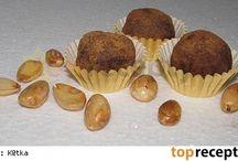 Nepečené cukroví / čokoládové bombóny
