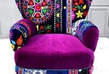 Patchwork furnishing ideas