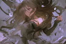 Anime girl Elfs