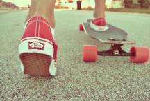 Inspiration: Skateboarding aesthetics / Skateboarding  / by gabipi