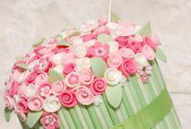 Sugar Flowers Cakes
