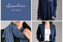 Cool Color / Distintos tipos de prendas, agrupadas por los colores de la temporada