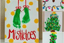 Christmas baby prints