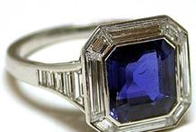 Emerald Cut Sapphire Rings
