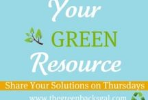 Green Resources / by Sharon Honning